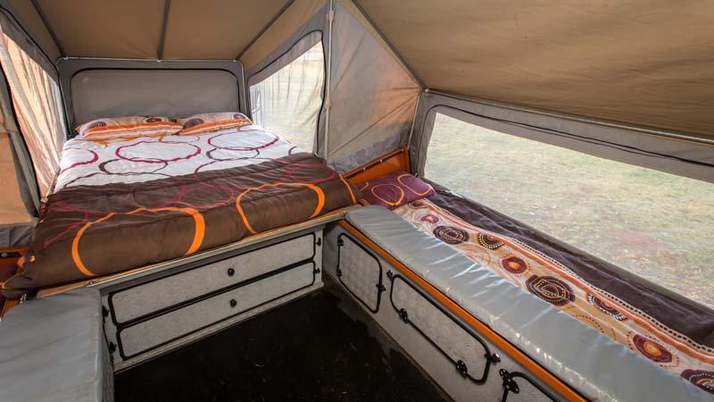 Crikey 4WD Safari camper