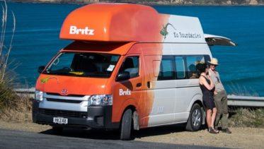 Britz Hitop Nieuw-Zeeland