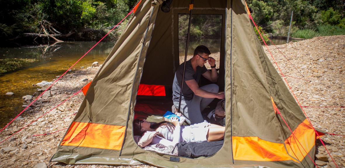 Britz Outback tent