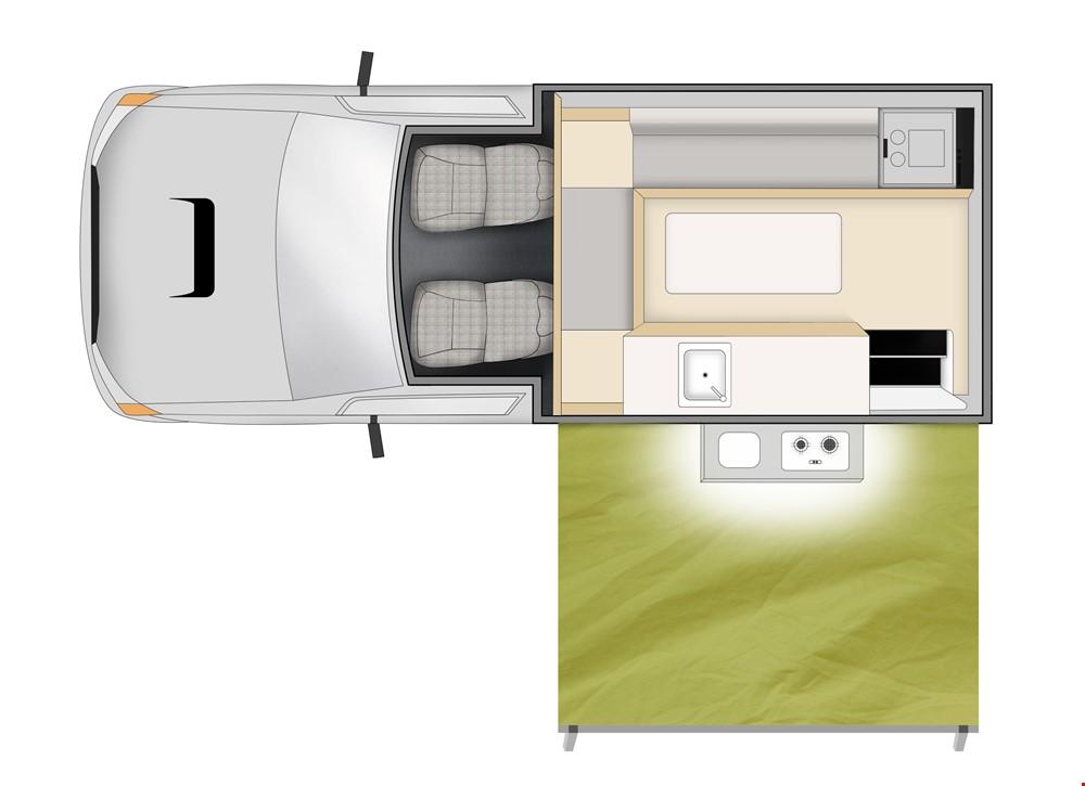 Cheapa 4WD camper
