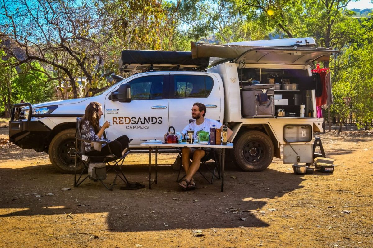 RedSands 4WD 2 personen kamperen