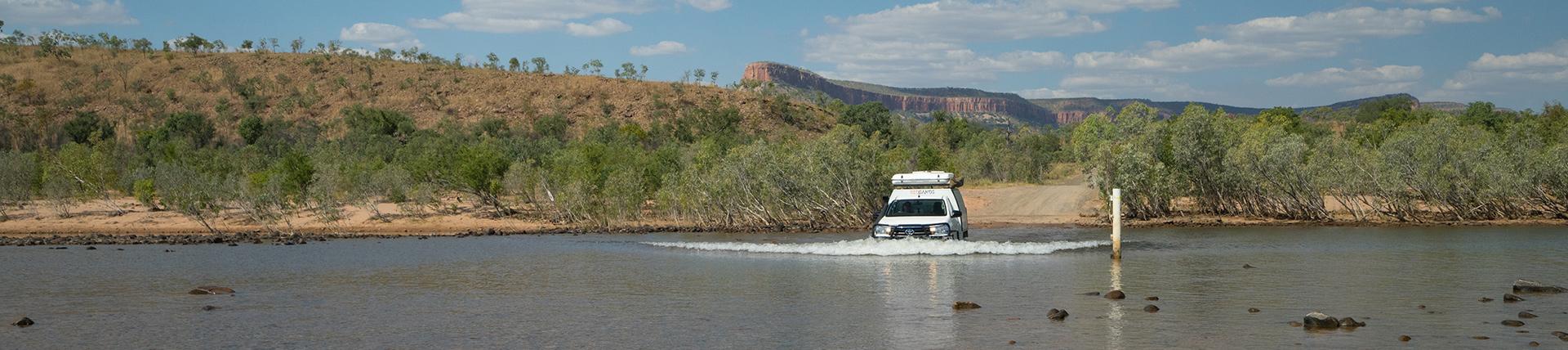 RedSands 4WD camper