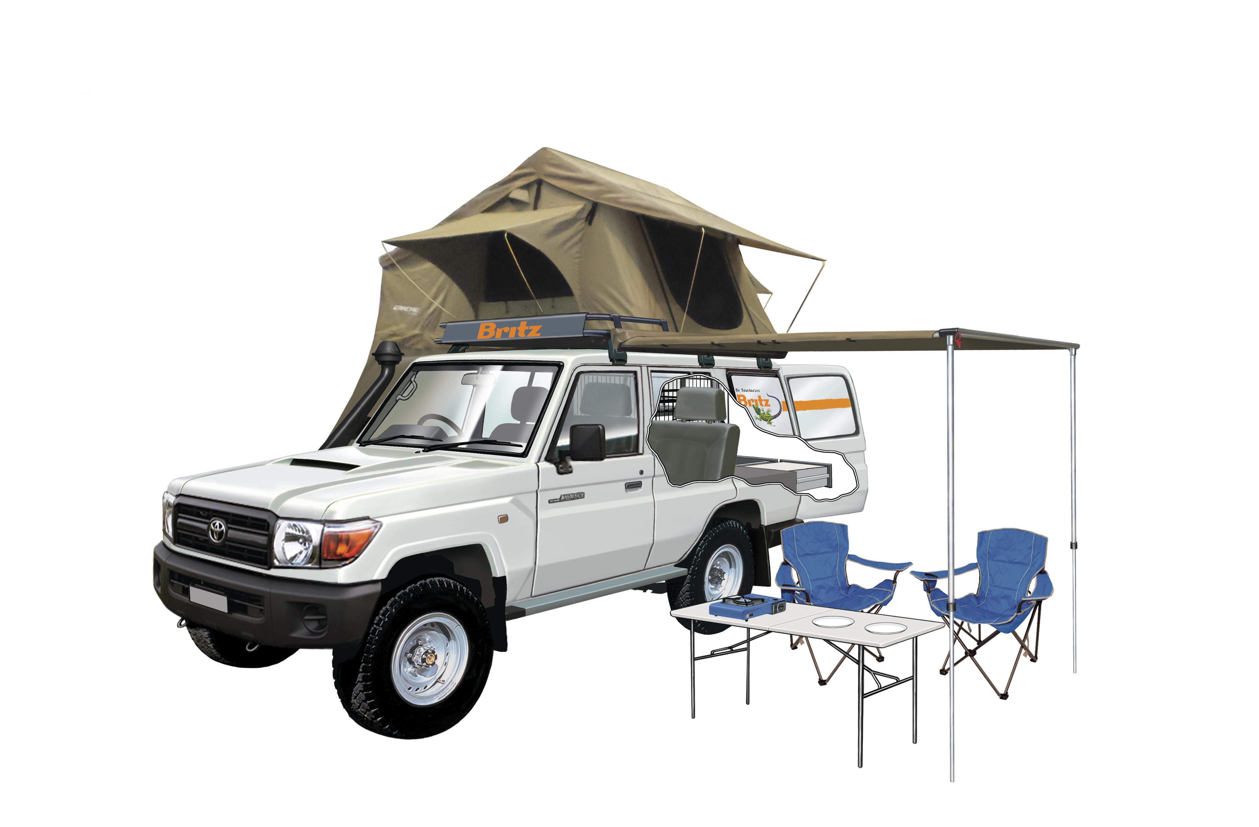 Britz Safari Landcruiser