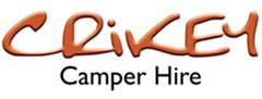logo Crikey Camper hire