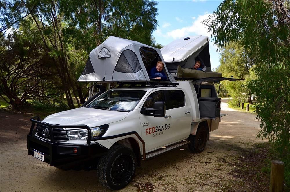 RedSands 5 person 4WD