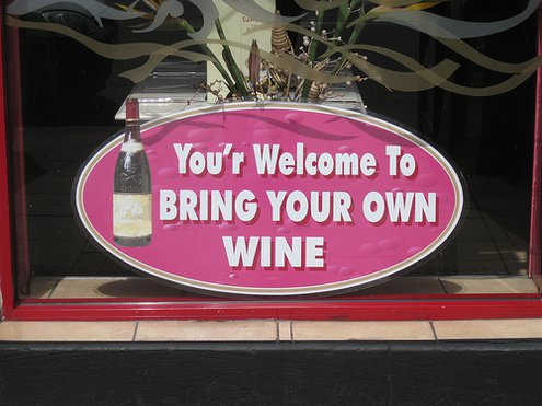 Bring your own wine