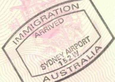 Visum Australie