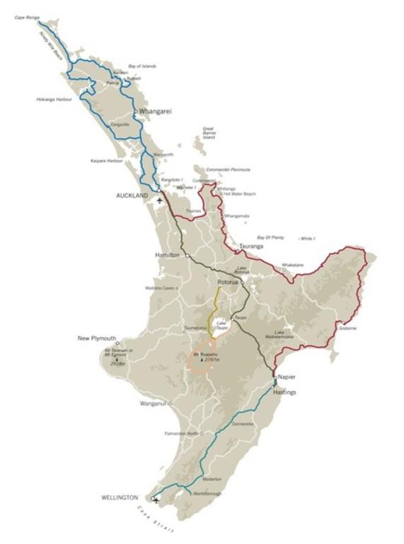 Noordereiland kaart
