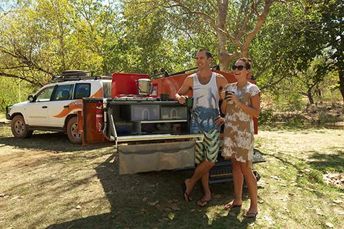 Crikey 4WD camper trailer