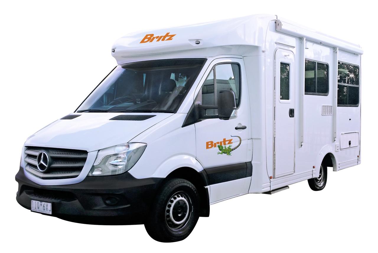 Britz Discovery camper
