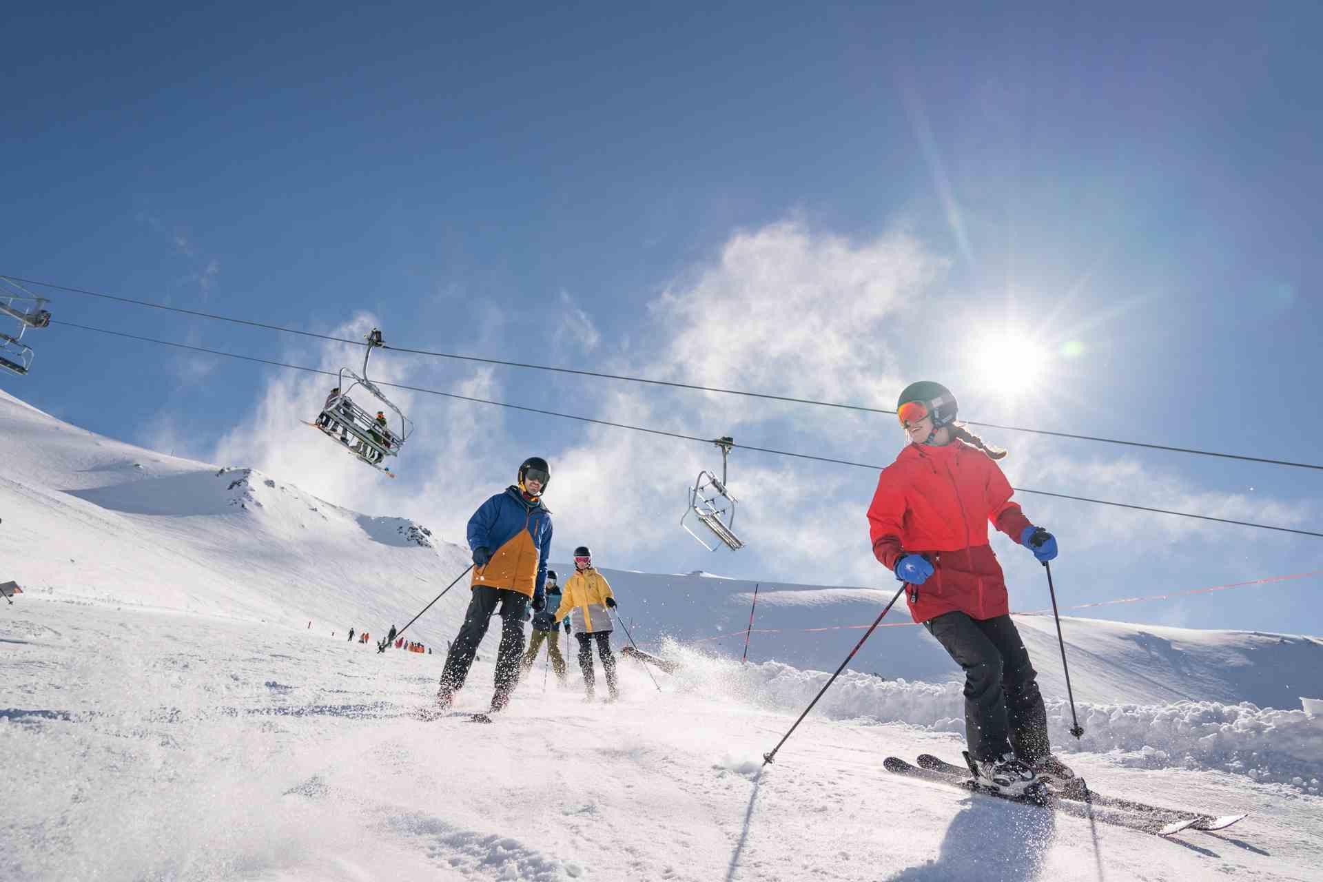 Skien Nieuw-Zeeland zuidereiland
