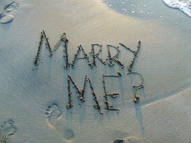 Huwelijksaanzoek